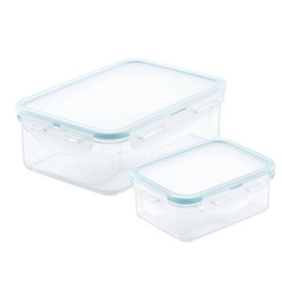 Lock and Lock Purely Better Rectangular Food Storage Container 2-Piece Set - 12oz & 25oz