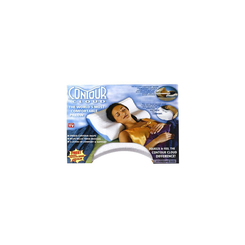Image of Contour Cloud Pillow with Cover - Standard