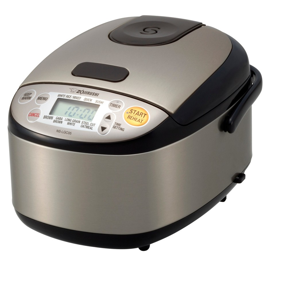 Micom Rice Cooker & Warmer, 3 cup, Stainless Brown 52434127