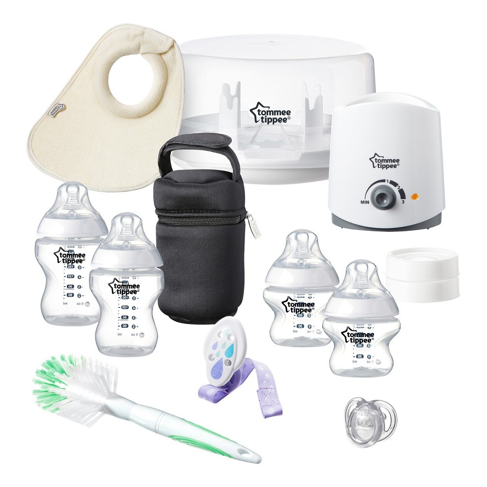 Tommee Tippee Closer To Nature All in One Newborn Starter Set, Multi-Colored