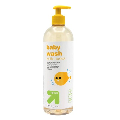 Baby Wash with Vanilla & Apricot - 24 fl oz - Up&Up™