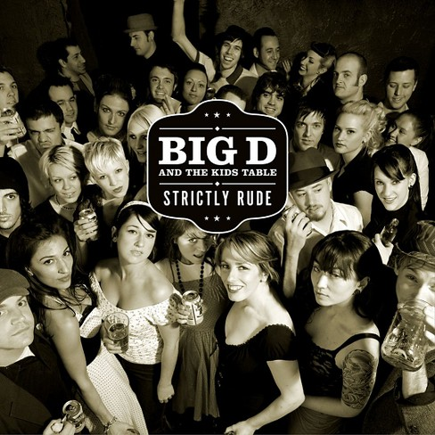 Big d & the kids tab - Strictly rude (Vinyl) - image 1 of 1