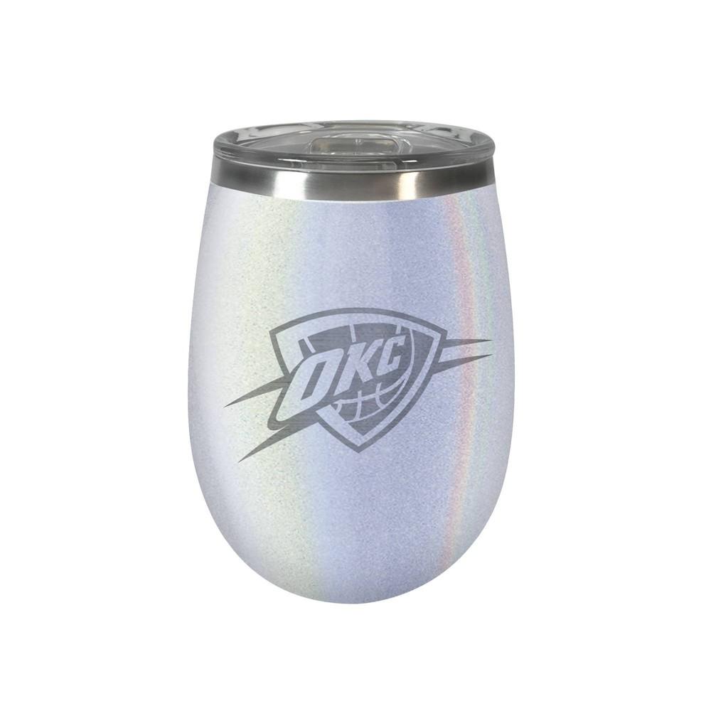 Nba Oklahoma City Thunder Opal Wine Tumbler 12oz