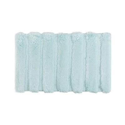 Tufted Pearl Channel Solid Bath Rug Seafoam (21x34 )