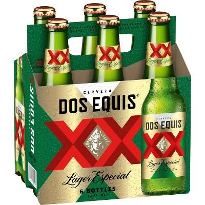 Dos Equis Mexican Lager Beer - 6pk/12 fl oz Bottles
