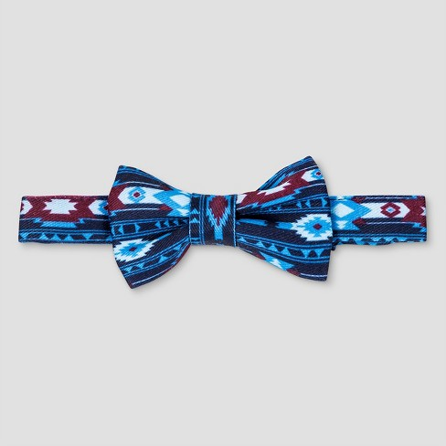 Toddler Boys' Tribal Print Bow Tie with Adjustable Back Cat & Jack™  - Navy 2T/5T - image 1 of 1