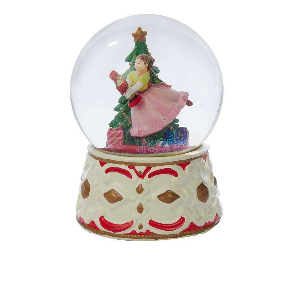 "Image of ""5.5"""" Kurt Adler Clara with Nutcracker Musical Water Globe"""