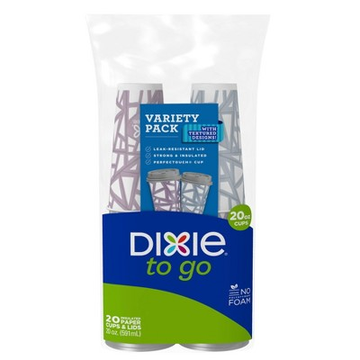 Dixie To Go Cups - 20oz