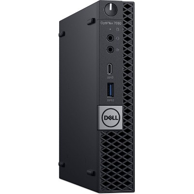 Dell 7060-MICRO Certified Pre-Owned PC, Core i5-8500T 2.1GHz, 8GB Ram, 256GB SSD, Win10 Pro (64-bit) Manufacturer Refurbished