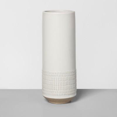 8  Textured Vase Cream - Hearth & Hand™ with Magnolia