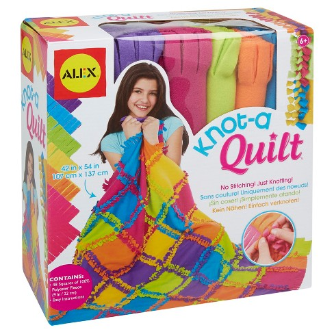 ALEX Toys Craft Knot A Quilt Kit - image 1 of 6