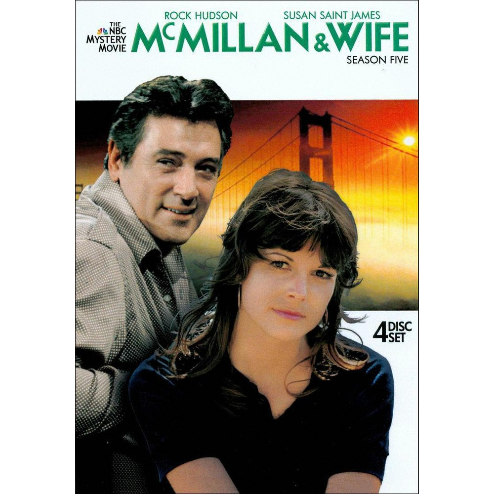 McMillan & Wife: Season Five [4 Discs]