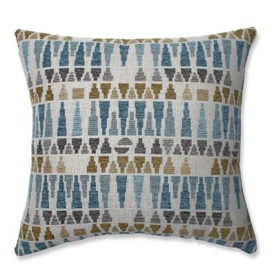 Sky Throw Pillow Blue/Gold - Pillow Perfect : Target