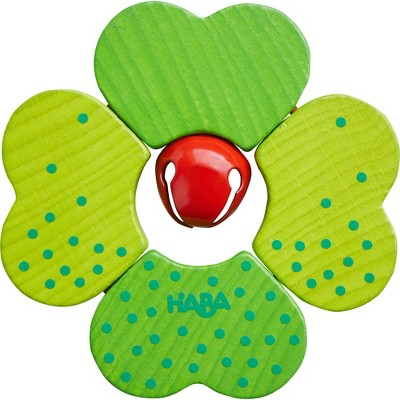 HABA Clutching Toy Shamrock (wood)  (Made in Germany)