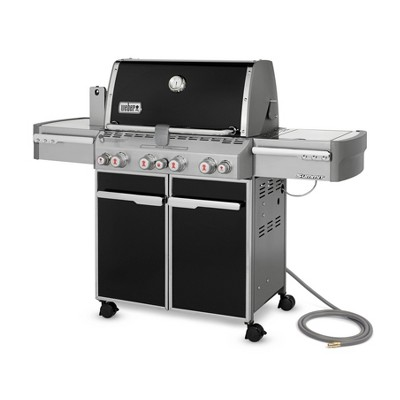 Weber Summit S-470 Natural Gas Grill - Black 7271001