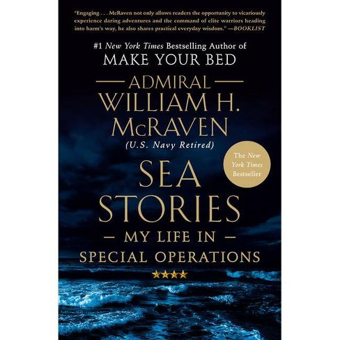 Sea Stories - Large Print by  William H McRaven (Hardcover) - image 1 of 1