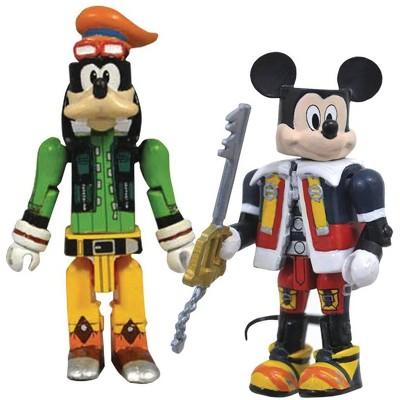 Diamond Select Kingdom Hearts Minimates Series 1 | Mickey Mouse & Goofy