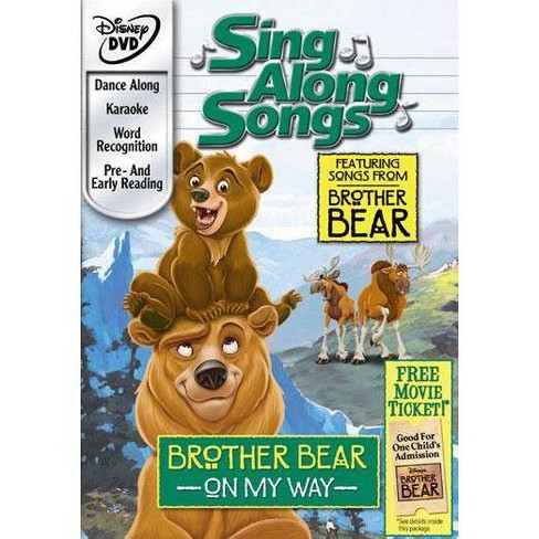 Sing Along Songs: Brother Bear - On My Way (DVD) - image 1 of 1
