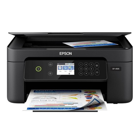 Epson Expression Home Wireless Small-in-One Printer (XP-4105) - image 1 of 4
