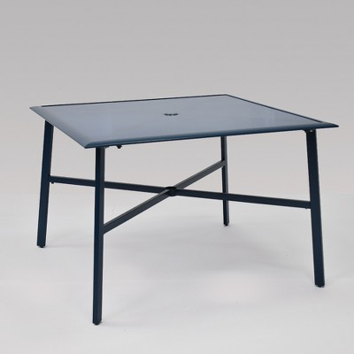 Fisher 4 Person Patio Dining Table Blue - Project 62™