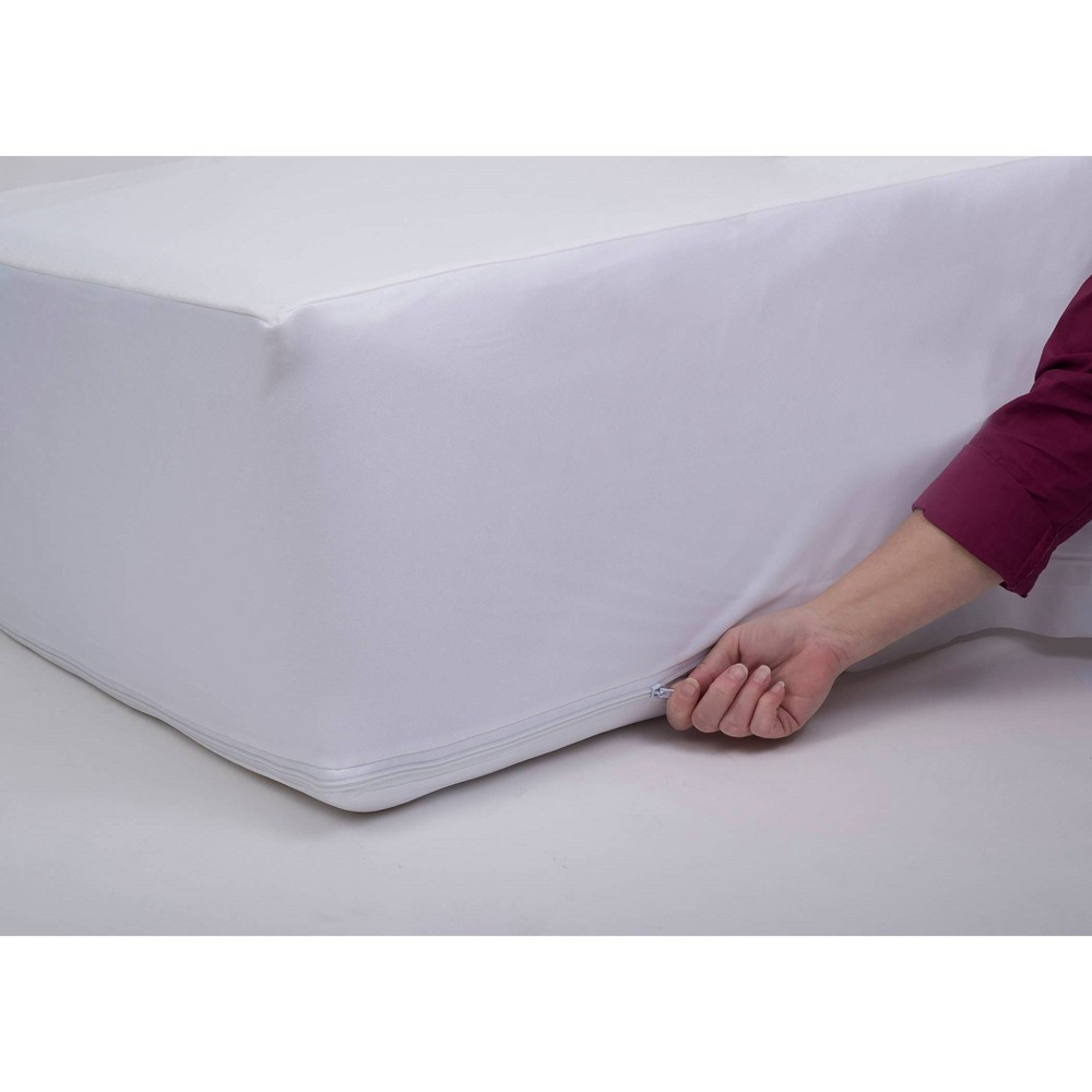 Image of Full NexGen Waterproof Zippered Mattress Protector - ProtectEase
