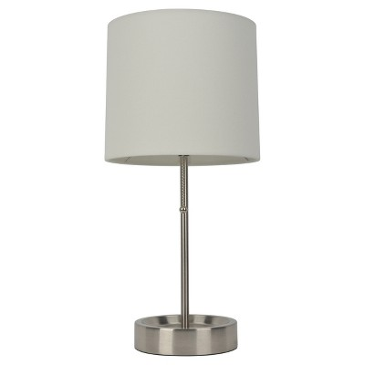 Stick Lamp White Includes Energy Efficient Light Bulb - Room Essentials™