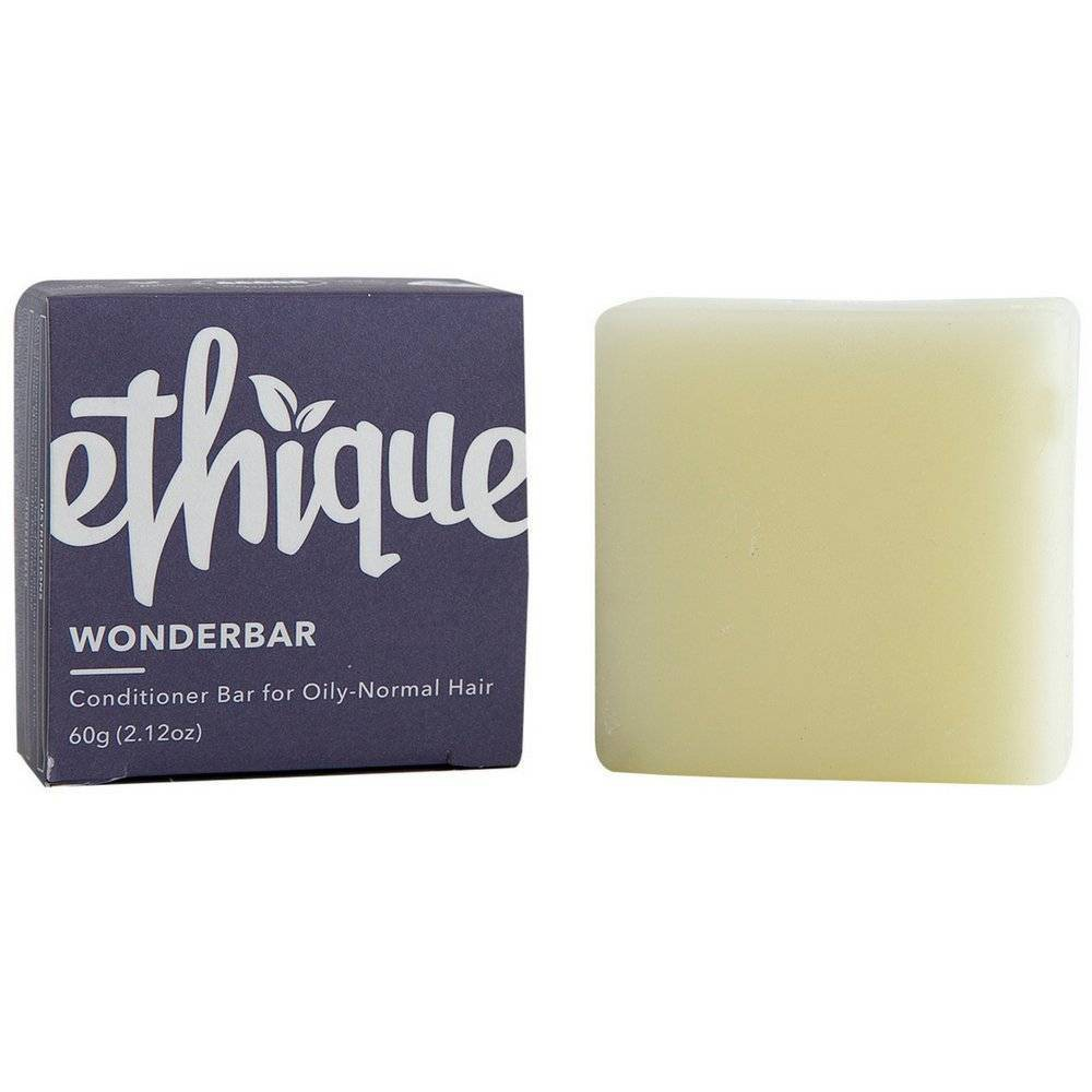 Image of Ethique Eco-Friendly Wonderbar Conditioner Bar For Oily-Normal Hair - 2.12oz