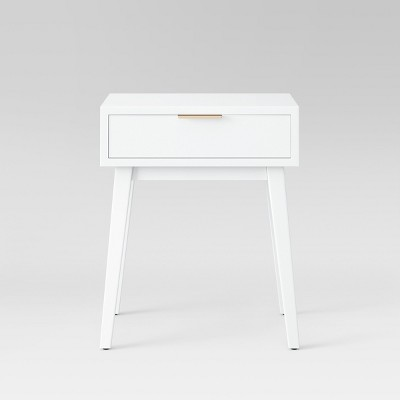 Hafley One Drawer Table White - Project 62™