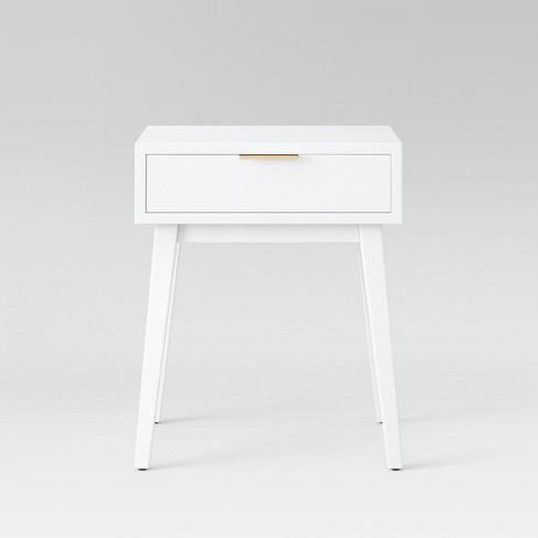 Hafley One Drawer Table White - Project 62™ - image 1 of 4
