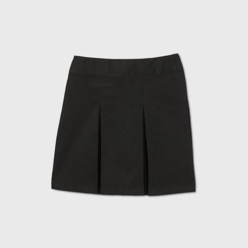 Girls' Stretch Uniform Pleated Twill Skorts - Cat & Jack™ : Target