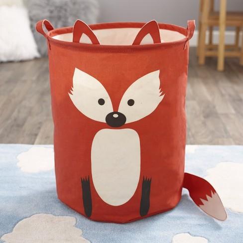 Lakeside Laundry Hamper Or Toy Bin Kids Bedroom Decor Red Fox Target