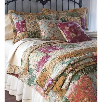 Set of 2 Floral Paisley Decorative Pillows