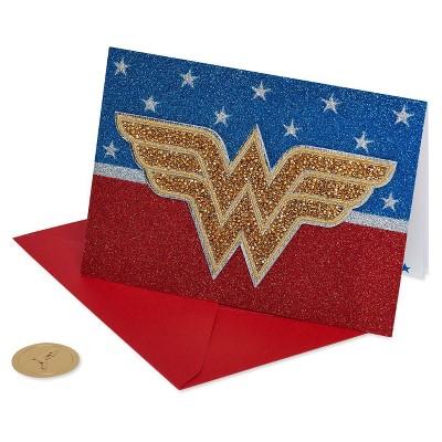 Wonder Woman Logo Patch Card - PAPYRUS