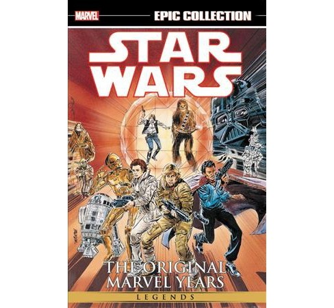 Star Wars Legends Epic Collection The Original Marvel Years 3 -  (Paperback) - image 1 of 1