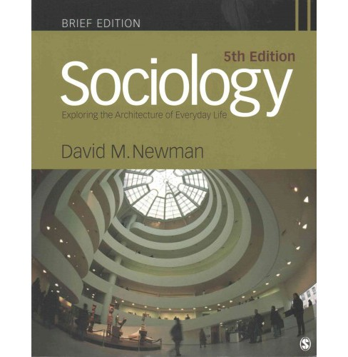 Sociology (Paperback) (David M. Newman) - image 1 of 1