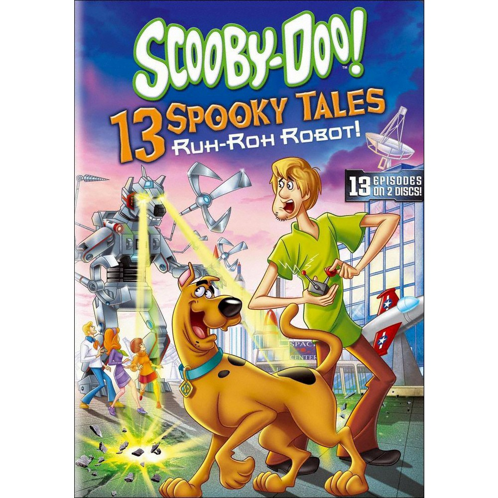 Scooby-Doo!: 13 Spooky Tales - Ruh-Roh Robot! (2 Discs) (dvd_video)