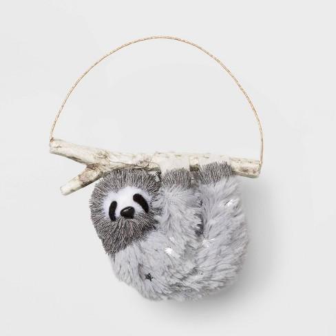 Sloth Christmas Ornament Wondershop