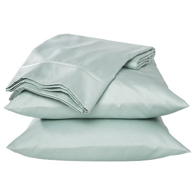 King Performance 400 Thread Count Sheet Set Mint Ash - Threshold™