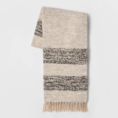 Woven Stripe Throw Blanket - Threshold™