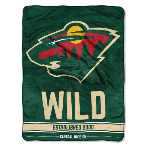 Nhl Minnesota Wild Micro Fleece Blanket