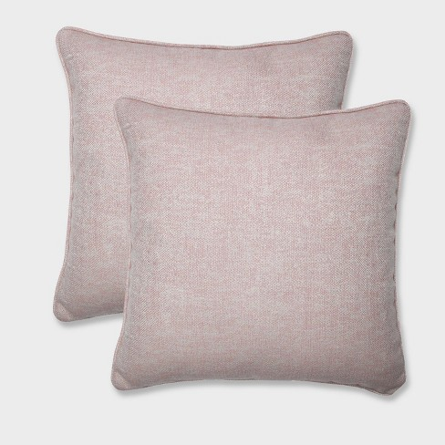 "18.5"" 2pk Chartres Rose Throw Pillows Pink - Pillow Perfect - image 1 of 3"