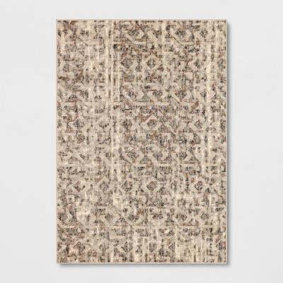 7'x10' Eliot Geo Area Rug Gray - Threshold™