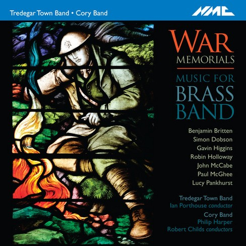Tredegar Town Band - War Memorials:Music For Brass Band (CD) - image 1 of 1