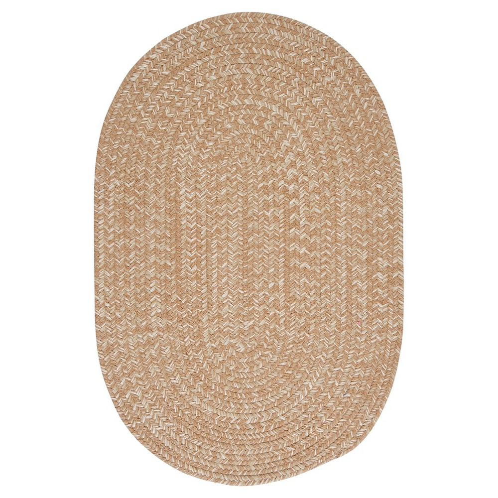Tremont Braided Area Rug - Evergold - (5'x8') - Colonial Mills