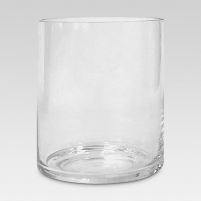 Glass Candle Holder Clear - Threshold™