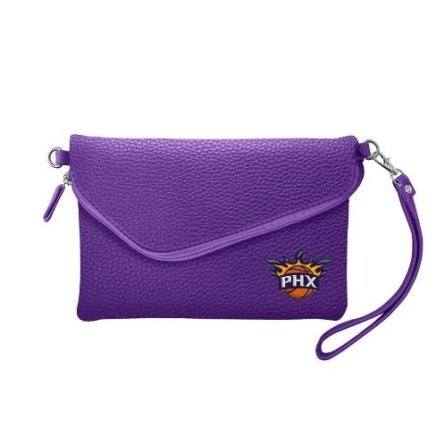 NBA Phoenix Suns Fold Over Pebble Crossbody Bag - image 1 of 1