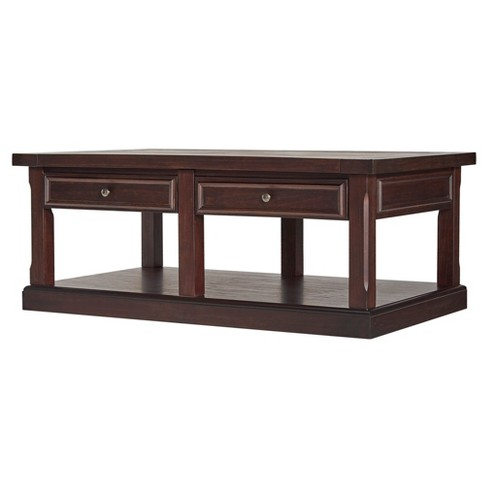 Grafton Traditional End Tail Table Set Distressed Espresso Inspire Q