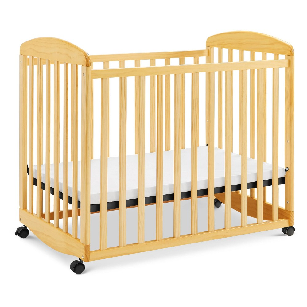Image of DaVinci Alpha Mini Rocking Crib - Natural