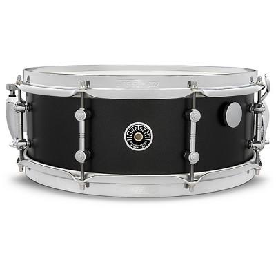 Gretsch Drums Brooklyn Standard Snare Drum 14 x 5.5 in. Satin Black Metallic