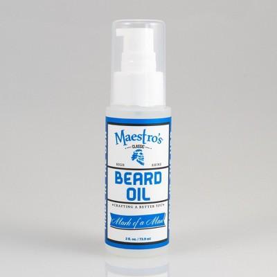 Maestro's Mark of a Man Aromatic Beard Oil - 2 fl oz
